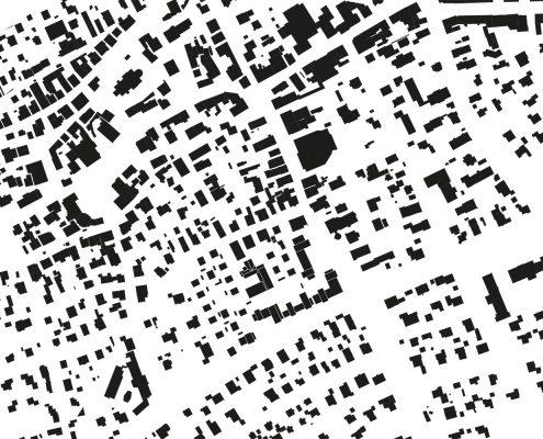 Schwarzplan | Wohnquartier